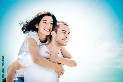 Love - young couple