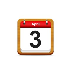 April 3.