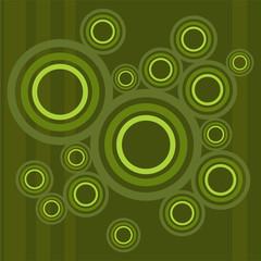 Hintergrund Dekor Kreise mehrfarbig retro