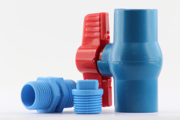 PVC ball valve and fittings