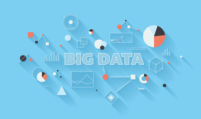 Big data analysis illustration