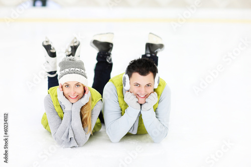 We love ice skating!