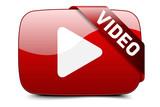 Fototapety Video button