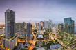 Miami Florida Downtown Aerial View Skyline
