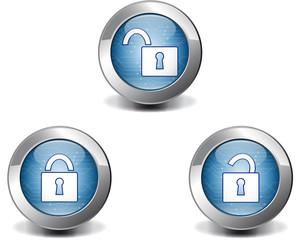 Blue lock button