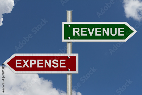 Revenue versus Expense