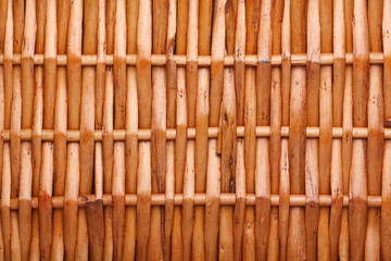 A simple background of basket weave or basket work