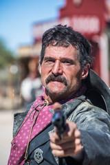 Stern Cowboy Points gun