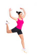 weight loss fitness woman...