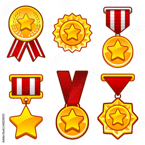Medals with star - 60238551