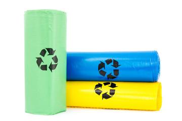 Plastic garbage bio bags