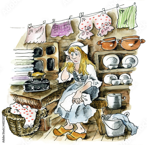 Cinderella in the kitchen