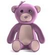 realistic 3d render of teddy bear