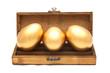 Golden egg in the box