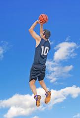 jump shot in the sky