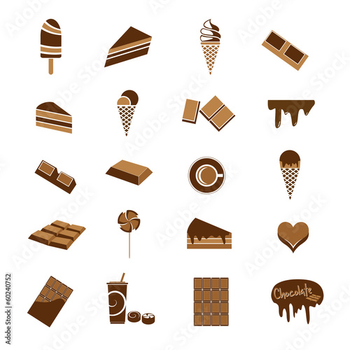 Chocolate icons