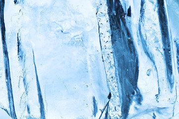 Abstract ice texture