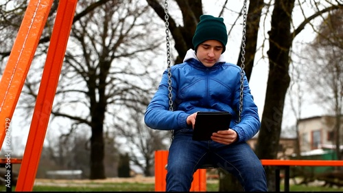 Teen with tablet PC episode 1