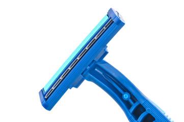 Razor blade closeup