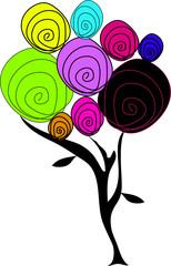 arbre de couleurs