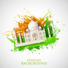 Grungy Taj Mahal