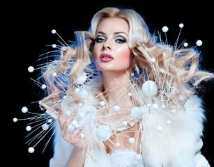 Beautiful Luxury Winter Woman