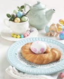 Easter pastry wreath