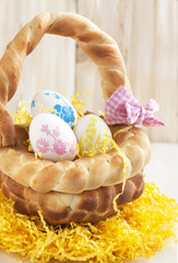 Easter bread basket