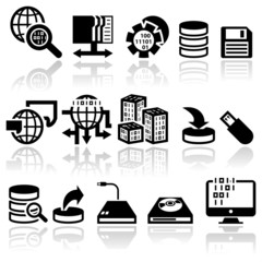 series vector icons set