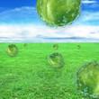 canvas print picture - Wellness Wassertropfen konzept- 3d Render