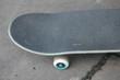 skateboard in skate park