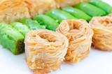 Different baklava