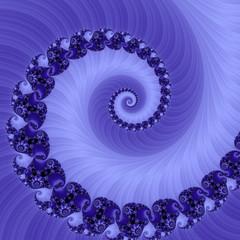 spirale astratta viola frattale
