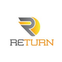 Return Letter R Logo