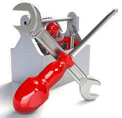 Werkzeug Werkzeugkasten