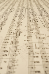 music sheet endless