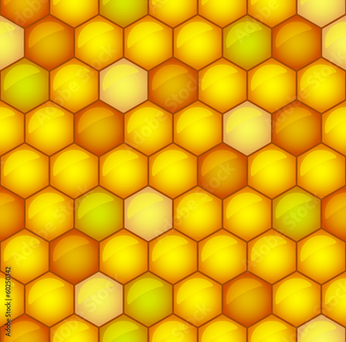 Honeycomb toned pattern