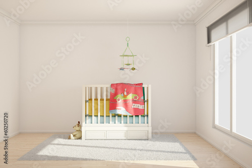 canvas print picture Children room with toys