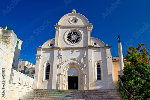 Cathedral of St James in Sibenik facade