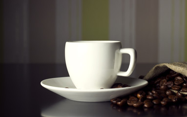 cup and wall