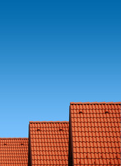 ..roof with clay tiles