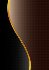 Abstract black-brown  background