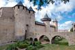 Chateaux de la cite and bridge at Carcassonne
