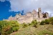 Chateaux de la cite sight from out walls at Carcassonne