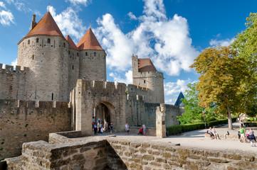 Porte Narbonnaise at Carcassonne