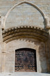 Saint Michel cathedral  door at Carcassonne