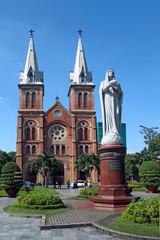 Notre-Dame Saigon Basilica in Ho Chi Minh City, Vietnam
