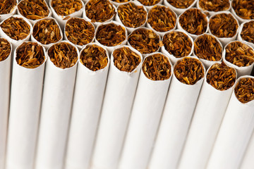 cigarettes production line