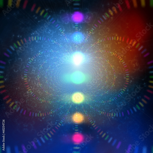 cosmic energy abstract background
