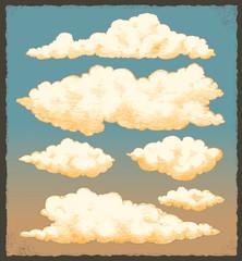 Vintage Cloud Background